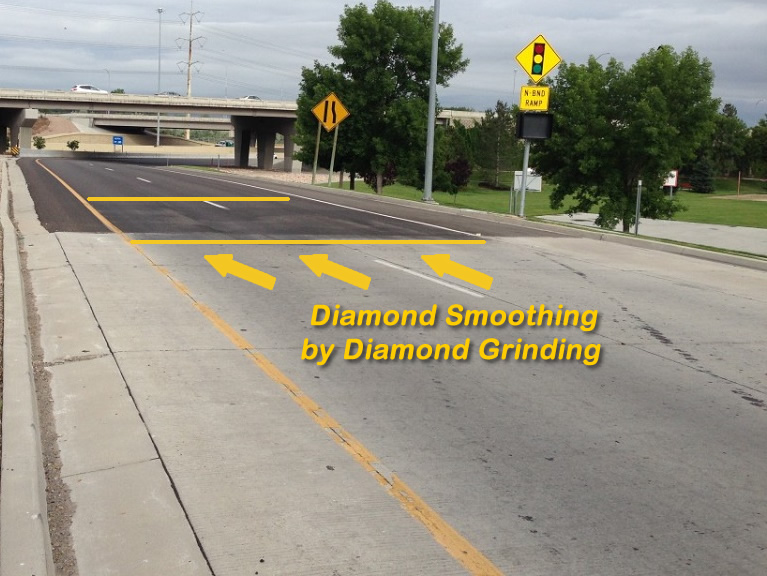 Diamond Smoothing by Diamond Grinding