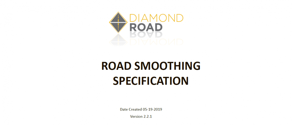 Diamond Road Smoother Specification v2.2.1